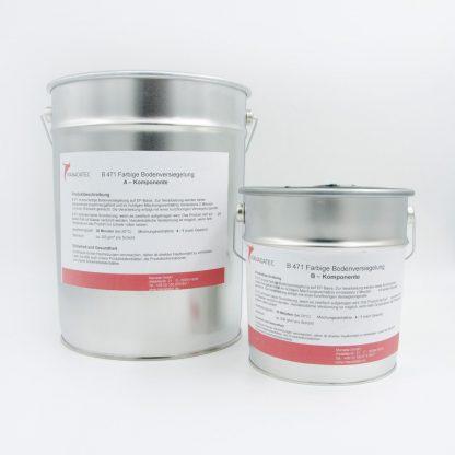 2K Epoxidharz Bodenbeschichtung Industrieboden - Manadur B 471 Transparent