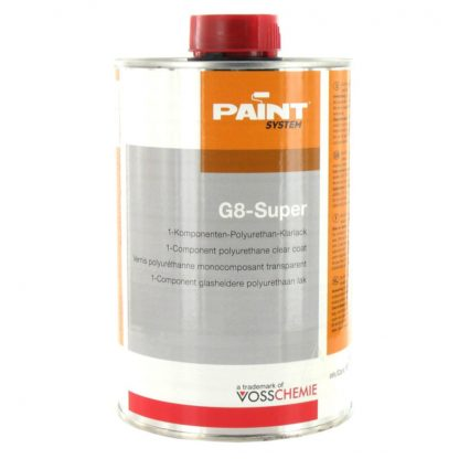 Vosschemie Polyurethan-Klarlack G8-Super
